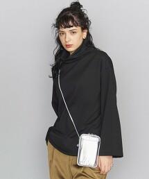 BY 平紋緯編布 高領 中長版套頭衫 日本製