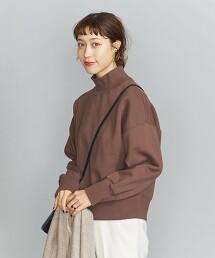 BY 棉裏毛高領長袖罩衫 日本製