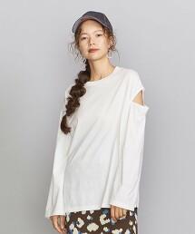 BY 天竺棉 袖衩 長袖T恤 日本製