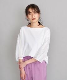BY 蕾絲7分袖上衣 日本製