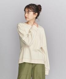BY 棉 毛圈紗布 長袖T恤 日本製