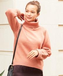 BY∴ 5G好觸感粗紡高領針織毛衣
