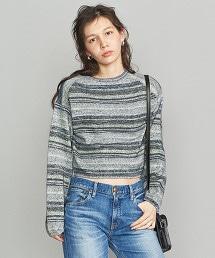 BY 混紡繽紛短版針織套衫
