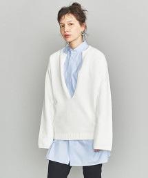 BY 深開襟領針織套頭衫 OUTLET商品