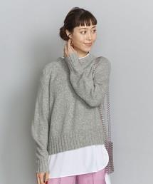 BY 羊毛 駱駝毛 插肩袖 針織套頭上衣 毛衣