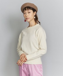 BY 12針羊毛氈圓領針織罩衫