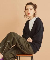 BY∴ 羊毛深V領針織衫 -可手洗-