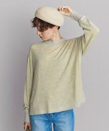 BY 透膚 層次風 長袖針織衫
