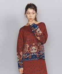 BY 緹花織物 針織套頭衫