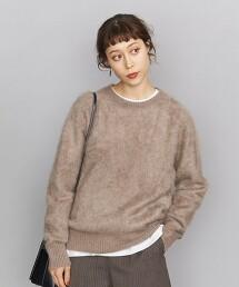 BY 喀什米爾 刷毛針織套頭衫 日本製