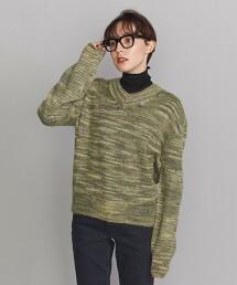 <TheOpen Product>V領針織罩衫