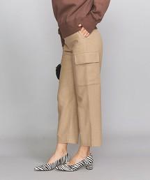 BY 法蘭絨側口袋工裝褲