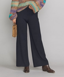 BY 14針 羊毛 嫘縈四平織法針織褲