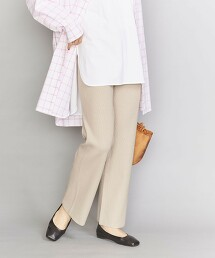 BY 羅紋針織 直筒褲2 -可手洗-