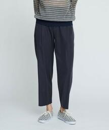 BY 素色緞面打摺錐形褲 -可手洗-