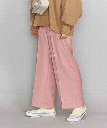 BY 雙層織 輕便寬褲 日本製