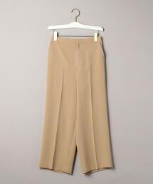 BY 斜紋織 寬版 八分褲 日本製