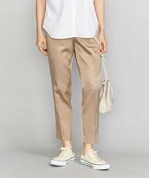 BY 色丁布 抽繩鬆緊長褲2 -可水洗- 日本製