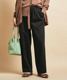 BY∴ 銅氨纖維緞面抽繩輕便褲 -可手洗- 日本製