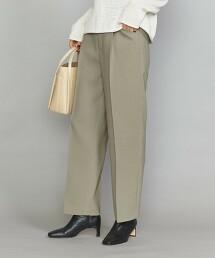 BY 緞背 打摺直筒褲 日本製
