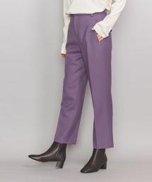 BY 雙層織物合身長褲