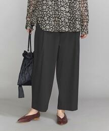 BY 斜紋織 弧型剪裁 長褲 CURVED PANTS 日本製