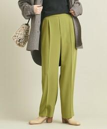 BY 雙層織物 打摺寬版錐形褲 -可手洗- ∴ 日本製