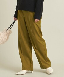 BY 仿羊毛 抽繩輕便褲 -可手洗- ∴ 日本製