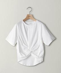 BY 前交叉短袖T恤