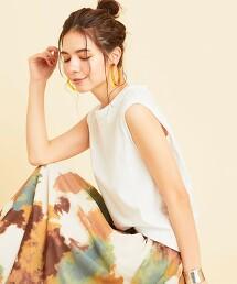 BY∴ 純棉 無袖 T恤 日本製