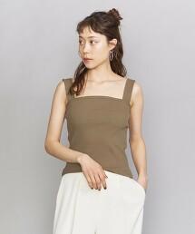BY 羅紋寬肩帶背心 日本製