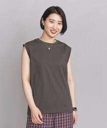 BY∴ 細針腳 棉質無袖T恤 日本製