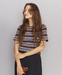 BY 純棉 複合橫條紋 羅紋T恤
