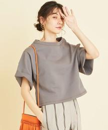 BY 重磅 厚棉6分袖上衣 日本製