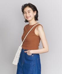 BY 短版羅紋無袖上衣 日本製