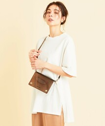 BY∴ 寬版側開衩短袖棉TEE 日本製
