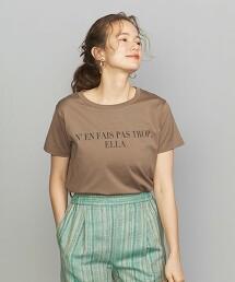BY 棉料印刷T恤 日本製