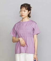 BY 純棉 束腰 短袖 T恤 日本製