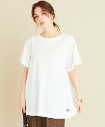 【特別訂製】<RUSSELL ATHLETIC>∴喇叭袖T恤
