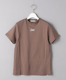 <SUPP.NO ONE ELSE>LOGO 短袖T恤 日本製