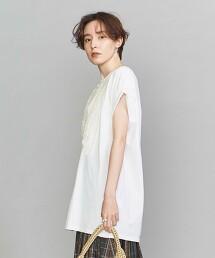 <dahl'ia>摺邊短袖 T恤 日本製