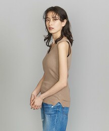 BY 羅紋 背心 針織衫 -可手洗-