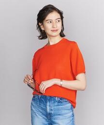 <THIBAULT VAN DER STRAETE>針織短袖棉罩衫
