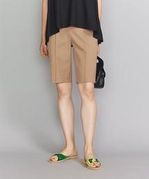 BY 羅馬布窄版短褲