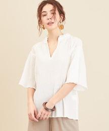 BY∴ 棉質楊柳布開襟罩衫 -可手洗-