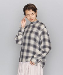 BY 格紋立領套衫 OUTLET商品