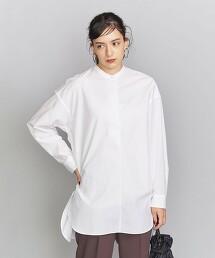 BY 高密度平織寬版開領襯衫2