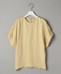 BY 素色緞面土耳其袖套衫