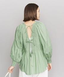 <KiiRA>縮折繡背開領罩衫
