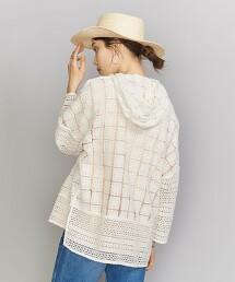 <ne Quittez pas>蕾絲 連帽罩衫